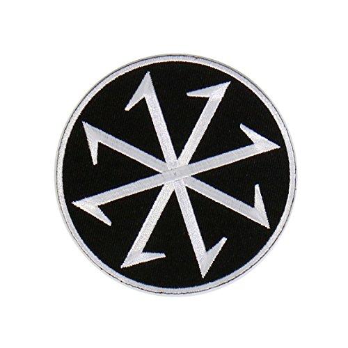 Brüder Patch (Kelten Celtic patch Wikinger Iceland Valknut Knot Feme Bruder (Feme))