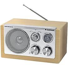 Audiosonic RD-1540 - Radio aux-in, 5 V, diseño retro