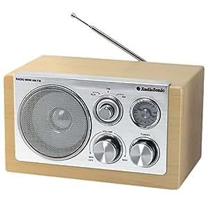 AudioSonic RD-1540 Retro Radio (UKW/MW-Tuner, AUX-IN)