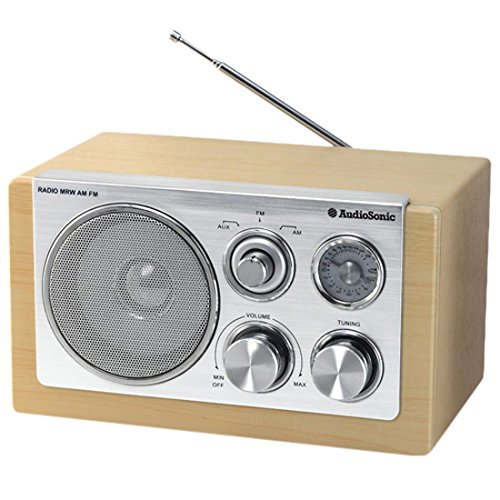 AudioSonic RD-1540 Retro Radio (UKW/MW-Tuner, AUX-IN)