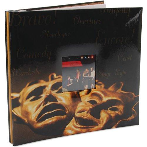 MBI Drama Maske 30,5x 30,5cm Post Bound Scrapbooking Album 865463