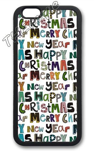 Coque silicone BUMPER souple IPHONE 5/5s - Joyeux noel pere noel merry Christmas motif 7 DESIGN case+ Film de protection OFFERT 5