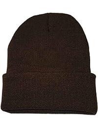 Elecenty Cappello da unisex sci invernale caldo Berretto elasticizzato con  cappuccio inverno autunno sci all 4a9a94cb2232