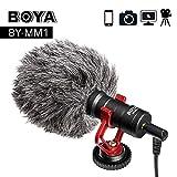 HATCHMATIC BOYA by MM1 Video-Aufnahmemikrofon Compact VS Rode VideoMicro On-Kamera Aufnahme Mikrofon für iPhone X 8 7 Huawei Nikon Canon DSLR: Russische Fund, mit ST-2s