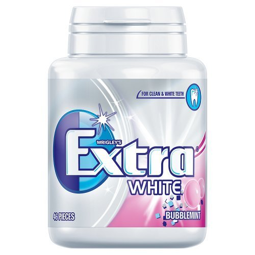 wrigleys-extra-white-bubblemint-chewing-gum-bottle-including-46-pieces-each-1-bottle