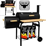 KING BBQ Smoker BBQ Grill Station 2 Gills - direct indirect Barbecue