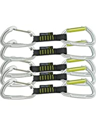 Edelrid Express Set Slash Wire VPE5, night-oasis, 10 cm, 719900102190