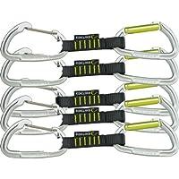 EDELRID Express Set Slash Wire vpe5, Night de oasis, 10cm, 719900102190