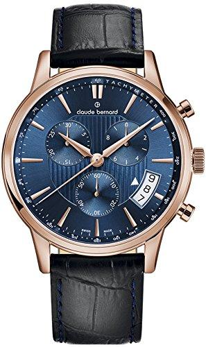 Claude Bernard Classic Chronograph Men's watches 01002 37R BUIR