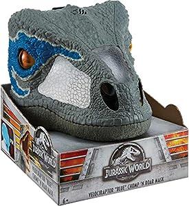 Jurassic World- Dino-Máscara con Sonidos,
