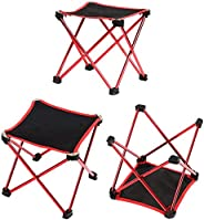 Others SQ-003-R Mounchain aluminum alloy fishing chair folding stool Mini portable ultralight outdoor sport Ca