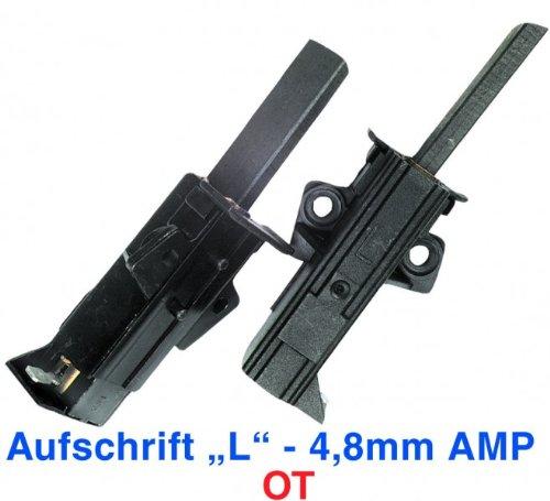 Kohlen(WA)m Halter -L-, OT, passend zu Geräten von:AEG Bosch Constructa Elekt...