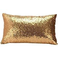 igemy lentejuelas sofá cama casa decoración Festival funda de almohada Funda de cojín