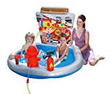 Summer Waves Planschbecken Kinderpool Firestation Feuerwehr 140 x 127 x 89 cm
