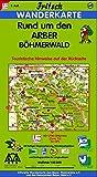 Fritsch Karten, Nr.69, Rund um den Arber, Böhmerwald (Fritsch Wanderkarten 1:50000) -
