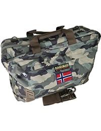 6089741b7d Borsa Zaino Tracolla Uomo Donna Multicolore Napapijri Bag Nordland  Overnight Camoufage N5Z25