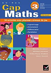 Cap Maths Cycle 3 - CD Rom 21 Activités