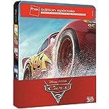 Disney Pixar Cars 3 Edition Spéciale Fnac Steelbook Blu-ray 3D + 2D