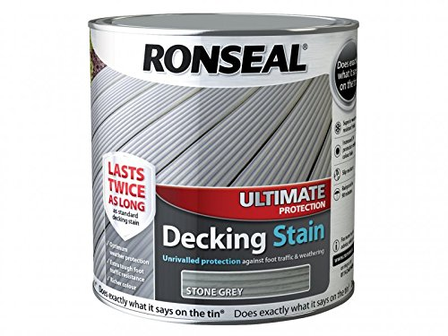 Ronseal Ultimate Protection Decking Stain Stone Grey 2.5L