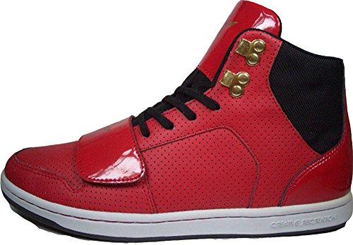 Creative Recreation Cesario Mid CR4-20 - Scarpe da ginnastica, taglia: 42, colore rosso/nero
