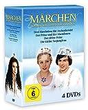 Märchen-Collection - Libuse Safrankova [4 DVDs: Drei Haselnüsse für Aschenbrödel - Der Prinz und der Abendstern - Der dritte Prinz - Die kleine Seejungfrau)]