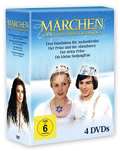 Märchen Kollektion - Libuse Safrankova (Drei Haselnüsse, Prinz & Abendstern, Der dritte Prinz, Seejungfrau) (4 DVDs)