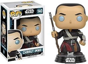 Funko- Chirrut Imwe Figura de Vinilo, colección de Pop, seria Star Wars Rogue One,, Standard (10455)