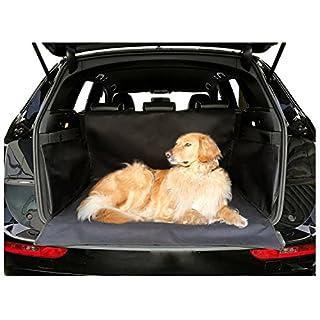 Kofferraumschutz Hunde Auto Klett Hundedecke Wasserdicht Schwarz Universal autooptimierer Kofferraumdecke Autoschondecke Kofferraum