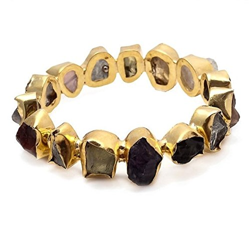 raw-natural-gemstones-bangle-bracelet-stackable-bangle-statement-bracelet-multi-color-bangle-gb-2