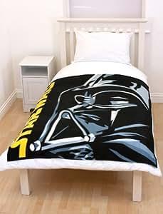 star wars fleece decke darth in 150 x 120 cm spielzeug. Black Bedroom Furniture Sets. Home Design Ideas