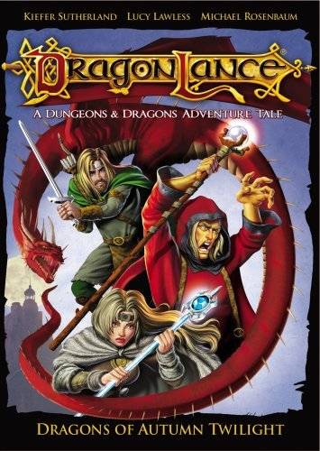 Dragonlance - Dragons Of The Autumn Twilight by Lucy Lawless (Dvd Twilight Filme)