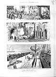 PILLEUR ROUGE D'ARABE DE 1882 DE GUERRE DE L'EGYPTE DE MARINES MANTEAUX DE L'ALEXANDRIE