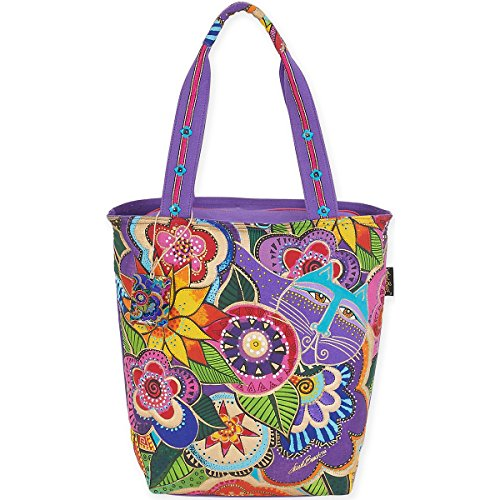 laurel-burch-carlotta-s-con-motivo-di-laurel-burch-tote-in-acrilico-multicolore
