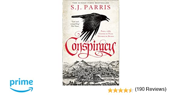 order of s j parris books