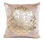 Xinan Pillow Case Sofa Taille Throw Kissen Cover Home Decor (Beige)