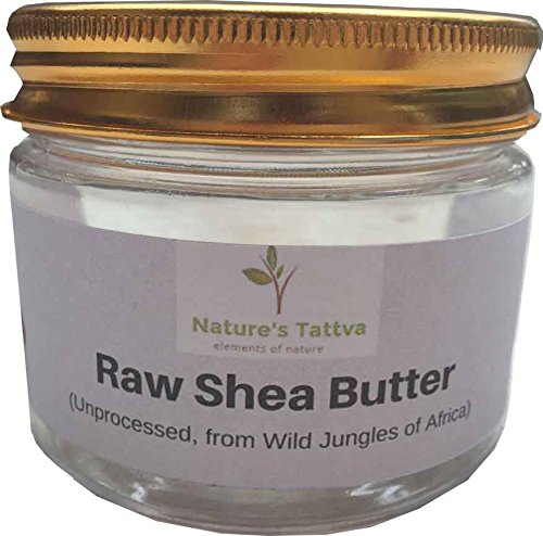 Raw Shea Butter Unprocessed, From the Wild Jungles of Africa, 100gm
