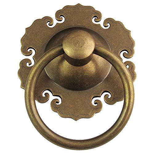 Tiradores de pomo de puerta 1 x Manijas de puerta de latón redondas d