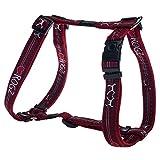 Kruuse Rogz Armed Response Hundegeschirr aus Nylon (X-Large) (Red Heart/Mehrfarbig)