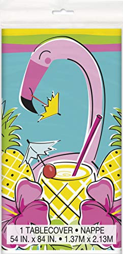 Unique Party 72693 - Mantel, color rosa