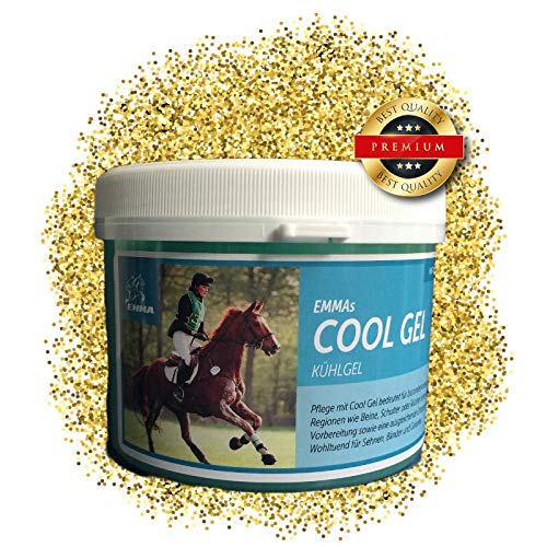 EMMA Pferdebalsam kühlend I Kühl-Salbe für Pferde I Pferdesalbe für Muskeln & Gelenke I Kühlgel Premium 500 ml