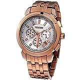Time W70006G.03A - Orologio da polso da uomo, cinturino in acciaio inox