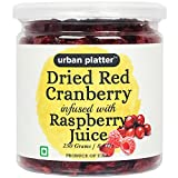 #1: Urban Platter Dried Red Cranberry Infused with Raspberry Juice, 250g