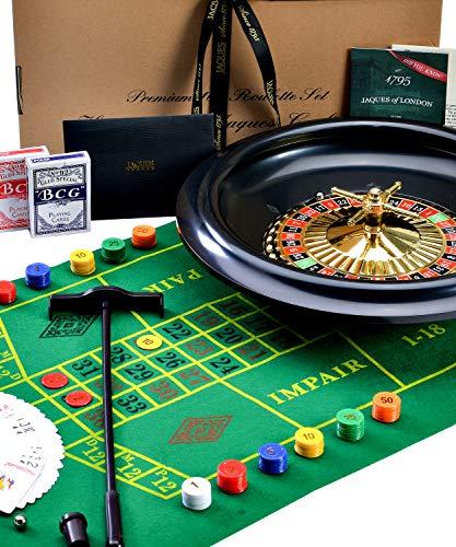 Riesiges Luxus-Roulette-Rad Roulette Set - 40cm / 16 Zoll - Jaques