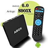 2017 GooBang Doo ABOX Android 6.0 TV Box Amlogic S905X 64 Bits Quad Core 1G/8G con Wifi 4K Smart TV Box
