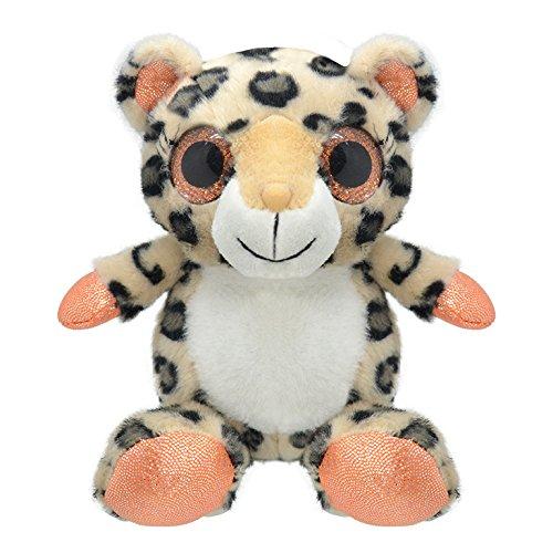 Wild Planet- Orbys-Juguete de Peluche Leopardo 15cm Hecho a Mano, (K7718)