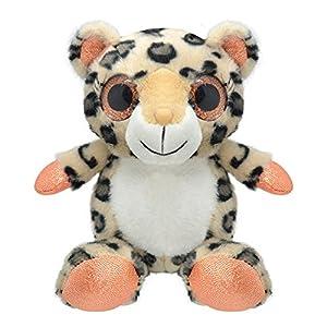 Wild Planet Orbys-Juguete de Peluche Leopardo 15cm Hecho a Mano, Multicolor (K7718)