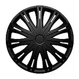 Universal Radzierblende Radkappe schwarz 17 Zoll für viele Fahrzeuge passend
