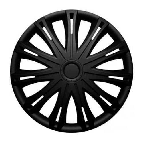Universal Radzierblende Radkappe schwarz 17 Zoll für viele Fahrzeuge passend (Felgen 17 Civic)