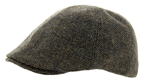 heritage-traditions-green-twill-tweed-panel-cap-hat