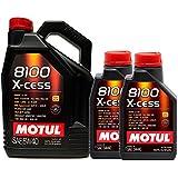 aceite motor MOTUL 8100 X-CESS 5W40 en 7 litros (1x5 lts+ 2x1 lt)